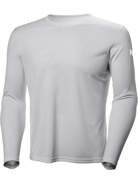 Helly Hansen Tech Crew Shirt Men Light Grey
